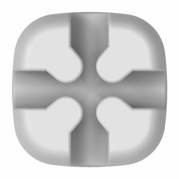 Orico Multifunctionele kabelclip - Kabelmanagement - voor kabels tot 5mm dik - 3M -  Grijs