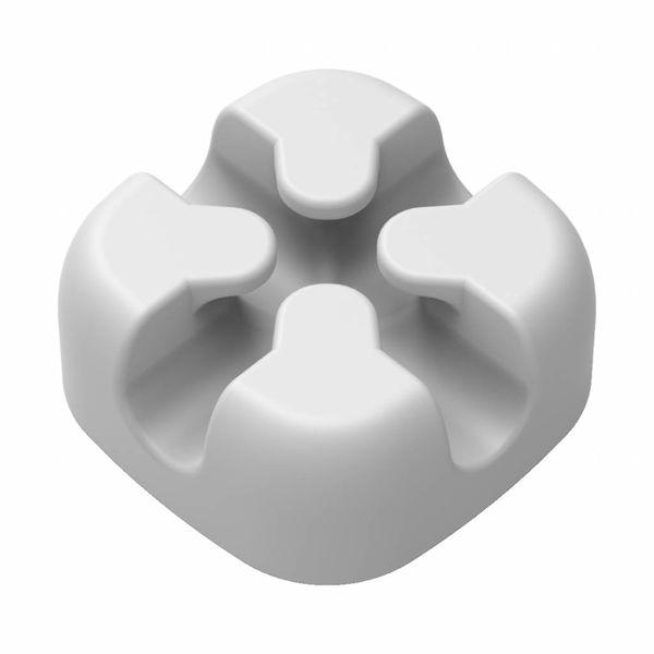 Orico Clip de câble en silicone en forme de croix - Gris
