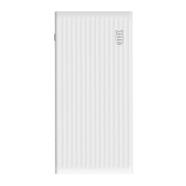 Orico Fast Charge Power Bank - 10000mAh -compatible with Type C - White