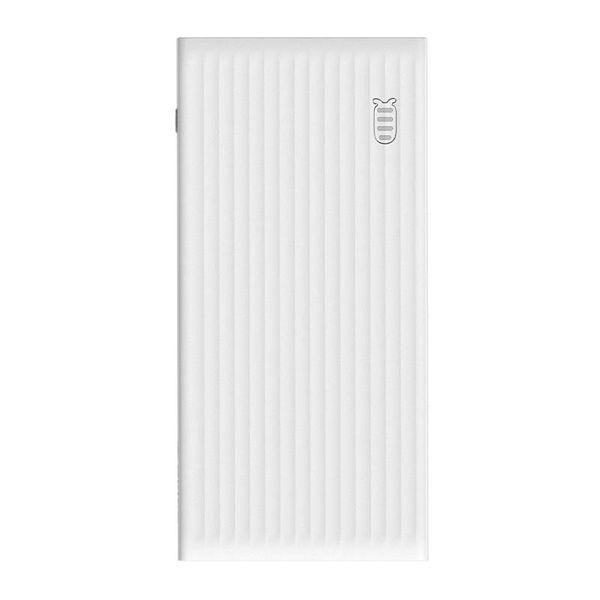 Orico Universelle Schnelllade-Powerbank - 10000 mAh Kompatibel mit Typ C - Li-Po-Akku - LED-Anzeige - Weiß