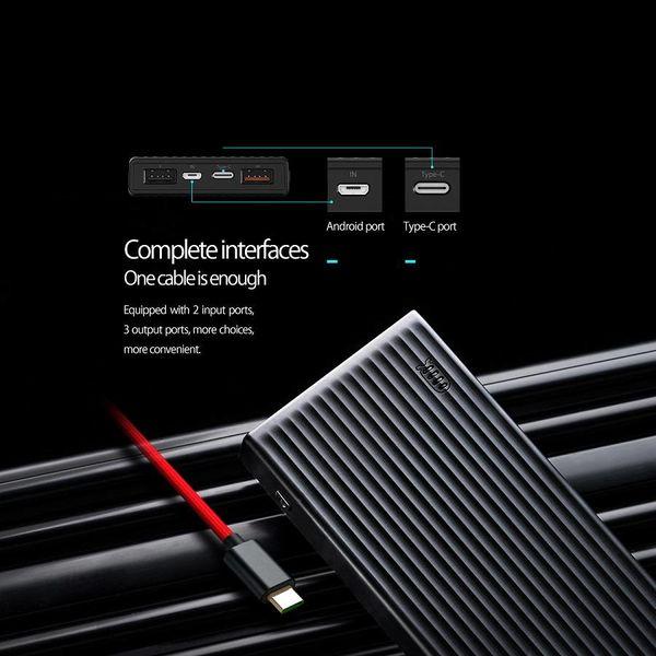 Orico Banque de puissance 20000mAh - Charge rapide - Type C - Noir