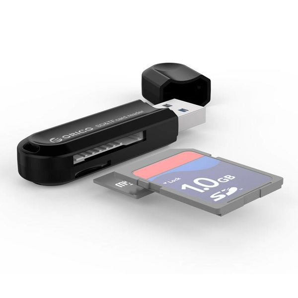 Orico Kartenleser für TF & SD-Speicherkarten USB3.0 - Schwarz