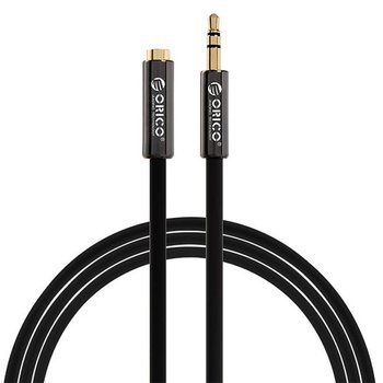 Orico 3.5mm jack stereo audio extension cable male -> female - 1M - Black