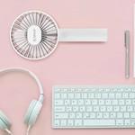 Orico Schreibtisch / Handgriff Wiederaufladbarer Mini-Ventilator