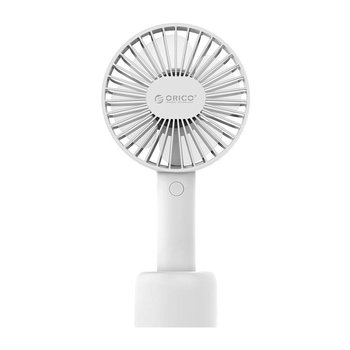 Orico Rechargeable desk and portable fan with three settings - white