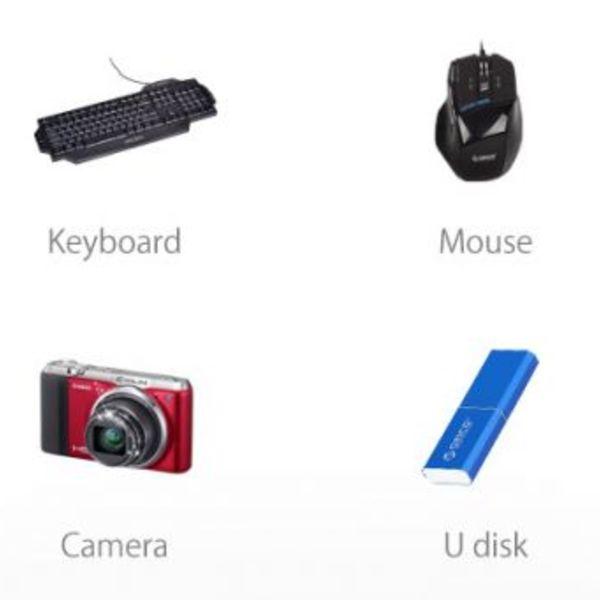 Orico Aluminium 10-Port USB 3.0 Hub 5 Gbps können Computer / Laptop / MacBook / iMac angewendet werden - Silber