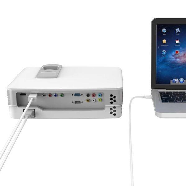 Orico Mini-Display-Anschluss zum HDMI-Adapter - 1920 x 1200 P Full HD - für MacBook und Lenovo ThinkPad - 2 Meter - Weiß