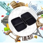 Orico Draagbare beschermhoes / beschermtas voor een 2.5 inch harde schijf - Inclusief ruimte voor accessoires - Vochtbestendig, stofdicht en antistatisch -  Zwart