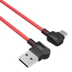 Orico Élégant câble de chargement USB Type-A vers USB Type-C - 2.4A - Fait de matériaux de haute qualité - Longueur: 1 mètre - Rouge