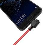 Orico Stilvolles USB-Ladekabel Typ A zu USB Typ C - 2,4 A - Aus hochwertigen Materialien - Länge: 1 Meter - Rot