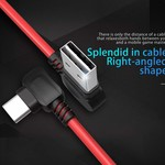 Orico Stylish USB Type-A to USB Type-C charging cable - 2.4A - Made of high quality materials - Length: 1 meter - Red