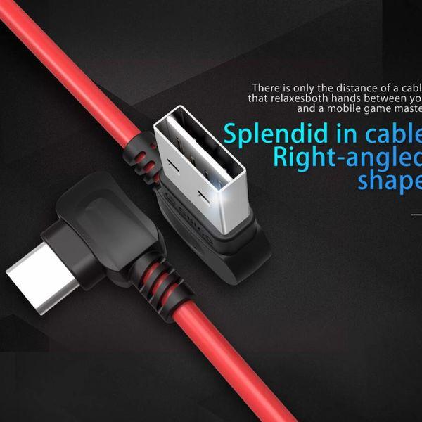 Orico Stijlvolle USB Type-A naar USB Type-C laadkabel - 2.4A - Gemaakt van hoogwaardige materialen - Lengte: 1 meter - Rood