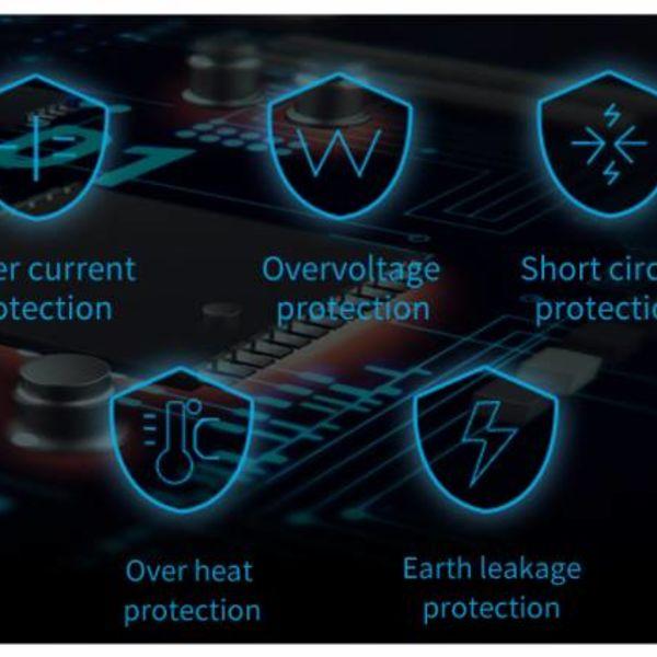 Orico Dockingstation für 2,5-Zoll- oder 3,5-Zoll-Festplatte - HDD / SSD - Inkl. Datenkabel und Netzteil - LED-Anzeige - Hochglanzschwarz