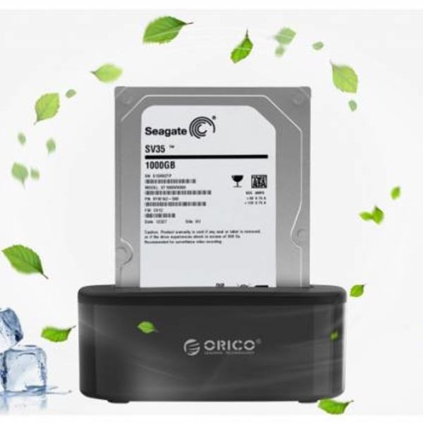 """Orico HDD Docking station for 2.5 and 3.5 """"HDD / SSD - gloss"""