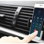 Orico Universele mobiele telefoonhouder voor in ventilatierooster auto - 360 graden te draaien - Siliconen pads - Zwart