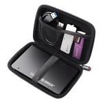 Orico Tragbare Schutzhülle / Schutzhülle für eine 2,5-Zoll-Festplatte - Enthält Platz für Zubehör - Feuchtigkeitsbeständig, staubdicht und antistatisch - Lila