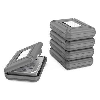Orico Housse de protection portable pour disque dur 3,5 pouces - Plastique PP - Gris
