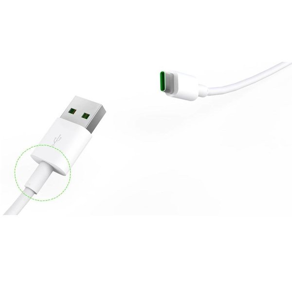 Orico Powerful Type-C Charging Cable - 5 Ampere - Fast Charge and Synchronization -50cm - White