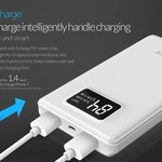 Orico 12.000mAh Powerbank with Smart Charge - LiPo Battery - LED indication