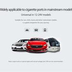 Orico Répartiteur chargeur voiture avec 2 ports - Incl. interrupteurs marche / arrêt - 3.1A - 15.5W - 12 / 24V - Noir
