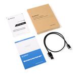 Orico USB Typ-A zu Micro USB Lade- und Datenkabel - 3A - Kabellänge: 50CM - Schwarz