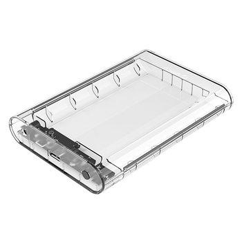 Orico Boîtier de disque dur transparent 3,5 pouces - SATA USB3.0