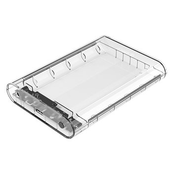 Orico Festplattengehäuse transparent 3,5 Zoll - SATA USB3.0