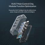 Orico Transparante 4 poort USB 3.0 Hub