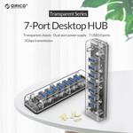 Orico Transparent 7 port USB 3.0 Hub
