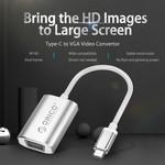 Orico USB Type-C naar VGA adapter kabel 15cm