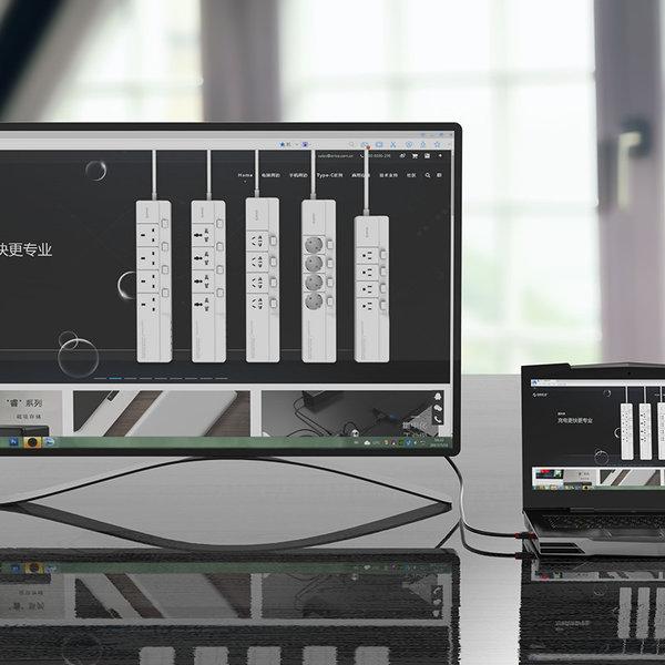 Orico HDMI 2.0-Kabel Stecker-Stecker - 4K Ultra HD bei 60 Hz - Hochgeschwindigkeits-HDMI® (bis zu 18 Gbit / s) - Vergoldete Anschlüsse - 1,5 m - Schwarz