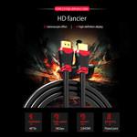 Orico HDMI 2.0-Kabel Stecker-Stecker - 4K Ultra HD bei 60 Hz - Hochgeschwindigkeits-HDMI® (bis zu 18 Gbit / s) - Vergoldete Anschlüsse - 2 Meter - Schwarz