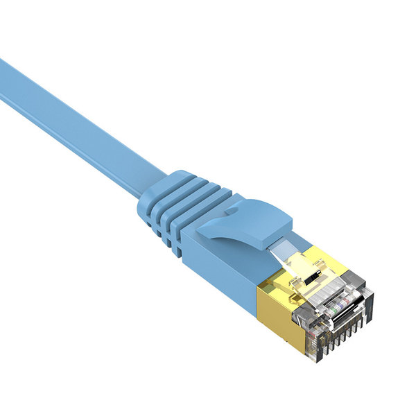 Orico Câble Ethernet CAT6 - 10 mètres - bleu - câble plat