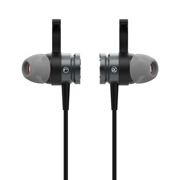 Orico In-Ear-Soundplus-Sport-Headset - Kopfhörer / Ohrhörer mit Mikrofon, Steuertaste und Lautstärkeregler - 3,5-mm-Buchse - Hohe Audioauflösung - Länge 1,2 m - Gewebter Maschendraht - Schwarz