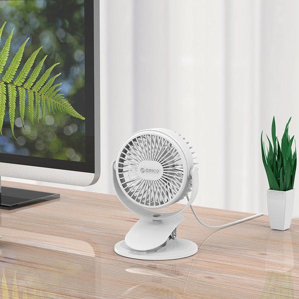 Orico Mini ventilateur USB avec fonction clip-on