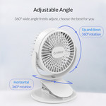 Orico Mini USB Fan with clip-on function
