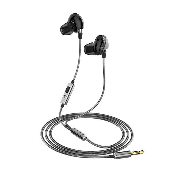 Orico Casque musical intra-auriculaire Soundplus - câble tressé en aluminium
