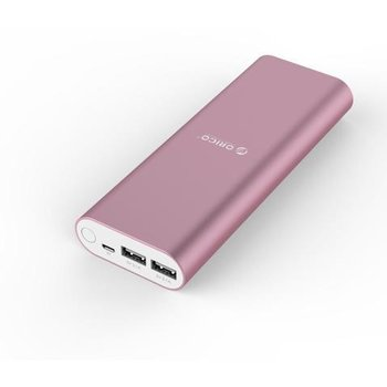 Orico Power bank 20,000mAh Aluminum - pink