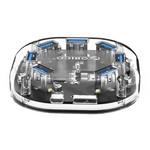 Transparante USB 3.0 hub  met 7 USB-poorten