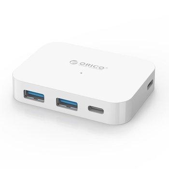 Orico Concentrateur USB3.0 de type C vers 2 x USB-A et 2 x USB-C - Blanc