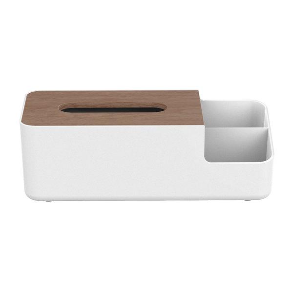 Orico Porte-boîte à mouchoirs multifonctionnel avec compartiments de rangement