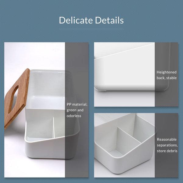 Orico Multifunktionaler Taschentuchhalter mit Ablagefächern