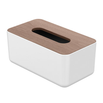 Orico Tissue box holder wood look