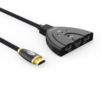 Orico HDMI 1.4 switch - 1 naar 3 apparaten - 4K@30Hz