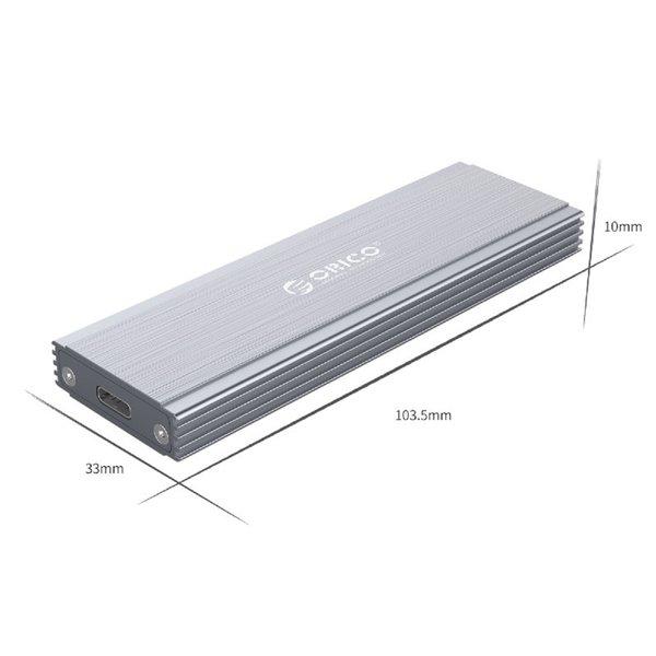 Orico Boîtier SSD NVMe M.2 - 10 Gbit / s - Aluminium