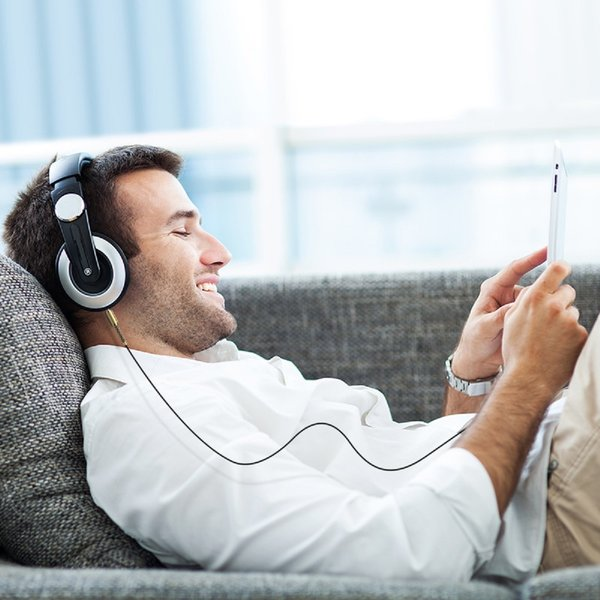 Orico Câble jack audio 3,5 mm à angle droit - 1 mètre