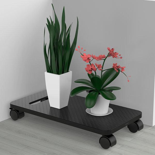 Orico Computer vloerstandaard trolley met wielen - rem - ABS - zwart