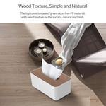 Orico Taschentücherboxhalter in Holzoptik