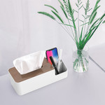 Orico Multifunctional tissue box holder with storage compartments