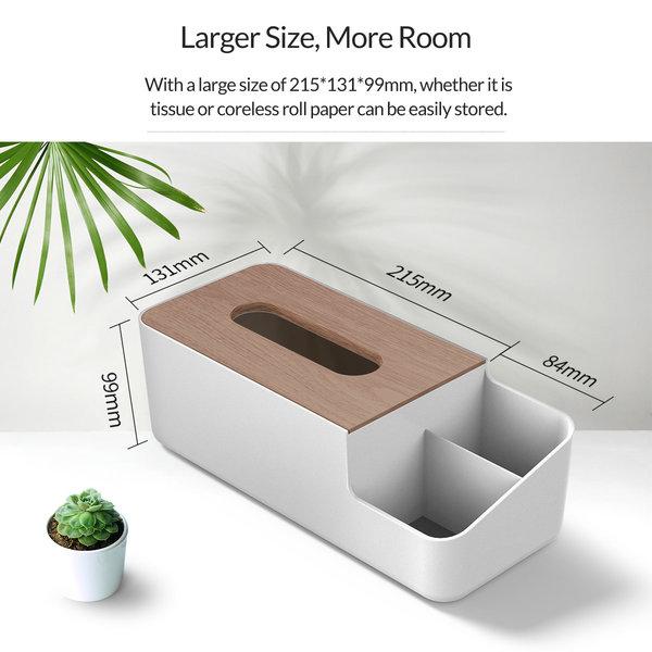 Orico Taschentücherboxhalter in Holzoptik - Copy